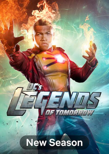 DC's Legends of Tomorrow on Netflix USA
